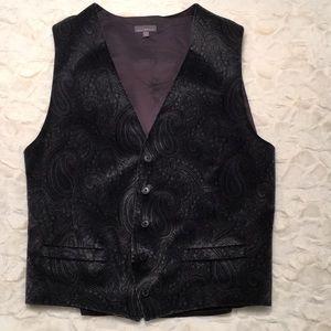 NWOT Men's Velvet Vest
